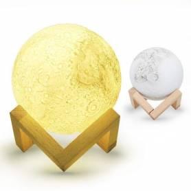 Lampe de lune 3D - Couleur changeante-Rechargeable
