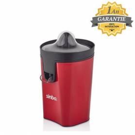 Sinbo Presse agrume - Rouge - 30W - SJ-3145 - Garantie 1 An