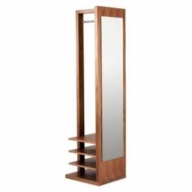 Porte vêtement moderne en bois blenz