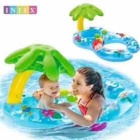 Intex Bouée siège bébé et maman -plage et piscine-intex
