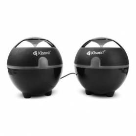 Kisonli Mini haut parleur - S-999 - Noir - Portable - Garantie 1 an