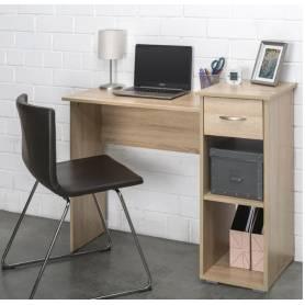 Bureau chene avec tiroir