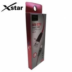 xstar Câble - USB - 1m - 2A - XS-A13 - Pour Iphone