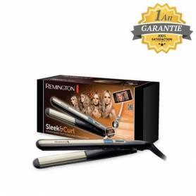 Remington Fer à Lisser - Fer à Boucler- Ceramic - S6500 - Noir - Garantie 1 an