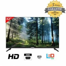 """Telefunken Téléviseur 32"""" D2 LED HD Avec Récepteur Intégré - Garantie 3 ans"""
