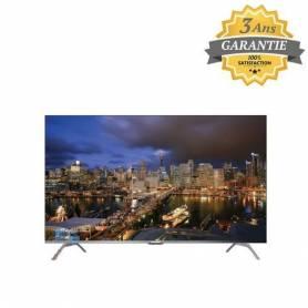 Telefunken Téléviseur ULTRA HD - Smart Android - 55G3A - Silver - Garantie 3 Ans
