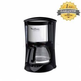 Moulinex Cafetière - Subito - 6 tasses - FG151825 - Noir Inox - Garantie 1 an