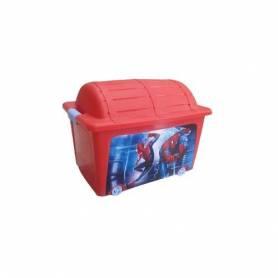 Sofpince Boîte de Rangement pour Jouets - Rouge