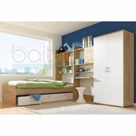 Chambre Skander  moderne et confortable - Blanc