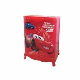 Sofpince Armoire en plastique - 2 Portes - Rouge-80*60*43