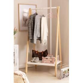 Porte vêtement et fournitures RITA-90*180*40cm