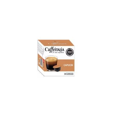 Paquet De 10 Capsules Caffeitalia Cappucino