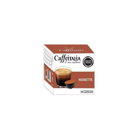 Paquet De 10 Capsules Caffeitalia Noisette