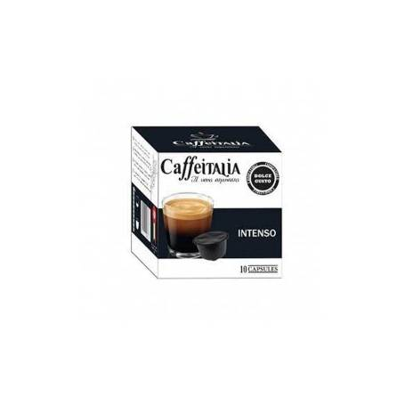 PAQUET DE 10 CAPSULES CAFFEITALIA INTENSO