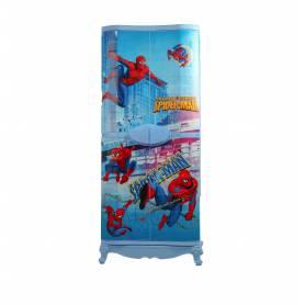 Sofpince Armoire en plastique - Disney - 4 Portes - Spider Man  - 150x60x40cm