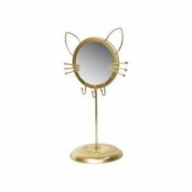 Porte Bijoux et Miroir cat - 32 X 24 X16.5 Cm