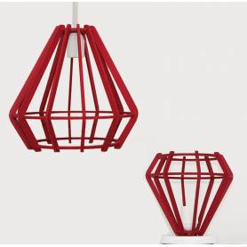 Pack: Veilleuse + Suspension Ø30 - Rouge