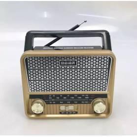 RADIO MEIER PORTABLE EFFET BOIS