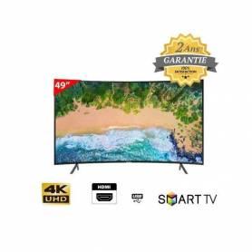 Samsung Curved TV 49 4K RU7300 UHD -TNT- Garantie 2 ans