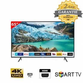 "Samsung Smart 4K TV UHD - 65"" RU7100 - Garantie 2 Ans"