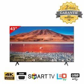 "Samsung Téléviseur LED 43"" 4K - UA43TU7000 - Garantie 2 ans"