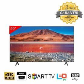 "Téléviseur Crystal UHD 50""- Serie 7- TU7000 - Garantie 2 ans"