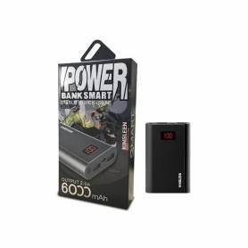 POWER BANK KINGLEEN 303S / 6000 MAH / NOIR