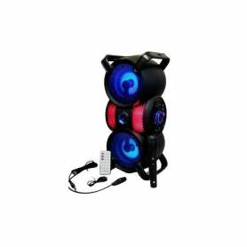 Haut parleur portable Bluetooth Avec micro karaoké ZQS-4229 - Noir