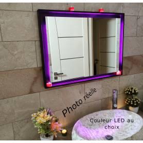 Miroir LED avec cadre 46-46cm