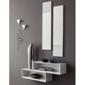 Meuble d'entrée avec miroir moderne