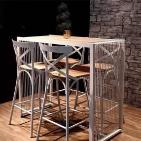 Table organique haut -1.20m*154cm*1m