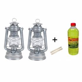 2 Lampes Lanterne tempête -...