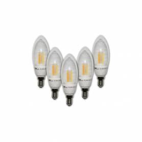 Vintage Pack de 5 lampes LED