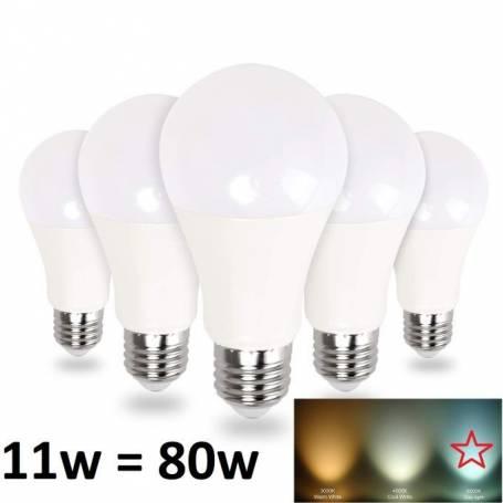 Lot de 5 ampoules led
