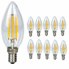 10 ampoules à filament LED...