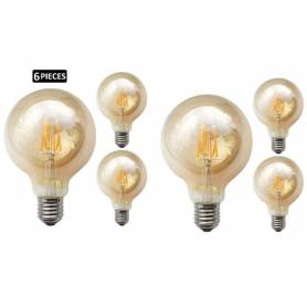 Pack 6 Lampes - Ampoule LED...