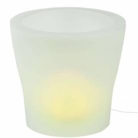 Led Pot avec lumière -...