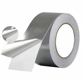 Rouleau d'aluminium adhésif