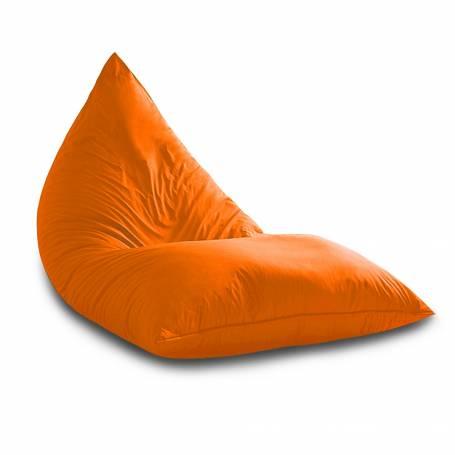 Pouf Sultan Triangle - XXL - 130*80*80 cm - Orange