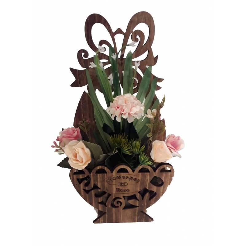 Pauwer 24 Pi/èces Artificielle Fleurs Faux Wisteria Vigne Glycine Artificielles Flowers en Soie pour la Maison Jardin Partie De Mariage D/écoration