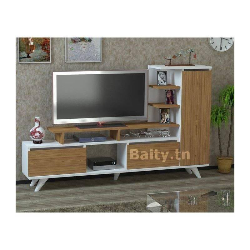 meuble tv 32 moderne pas ch re en tunisie. Black Bedroom Furniture Sets. Home Design Ideas
