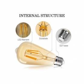 Vintage Lot de 6 ampoule...
