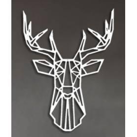 Tête de cerf – 65/50cm –...