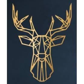 Tête de cerf – 65*50cm –...