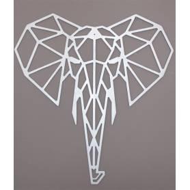 Tête d'éléphant - 65*61 cm...