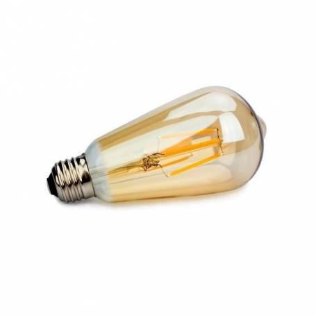 Vintage Ampoule vintage E27 - 4w - Lampe ST64