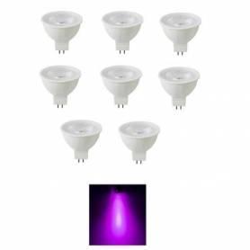 Pack de 8 lampes spot - 3 W...