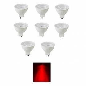 Pack de 8 lampes led - Spot...