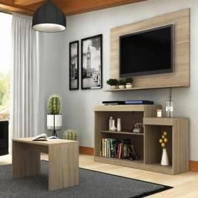 Meuble TV  Morima & Table Basse -  Chêne Langley 104