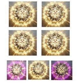 Pack de 4 Spots cristal led